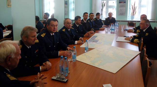Management of the Arkhangelsk Branch took part in a working session of the head of Rosmorrechflot in Arkhangelsk