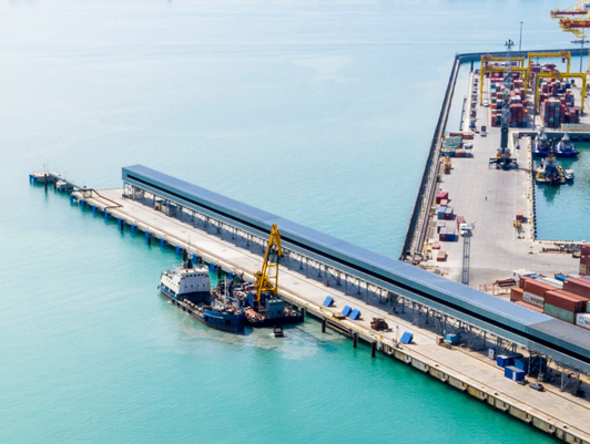 """In 2021 FSUE """"Rosmorport"""" plans to complete dredging of the operating water area of the KSK grain terminal"""