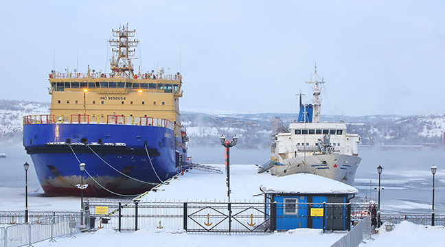 Tariffs for the berth provision services of the Murmansk Branch for the anchorage of vessels at berths in the seaport of Murmansk changed