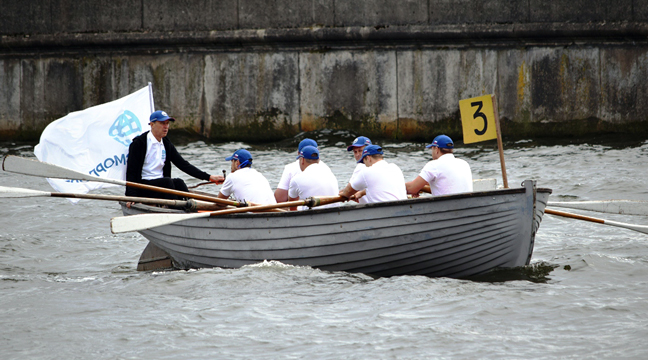 Team of North-Western Basin Branch Kaliningrad Directorate takes part in Milya Vityazya guest rowing regatta