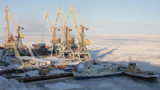 Closing of Navigation in the Seaport of Anadyr